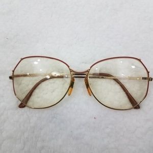 Vintage Nouveau eyeglasses Eyewear Italy Diana Fle